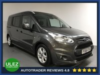 USED 2016 66 FORD GRAND TOURNEO CONNECT 1.5 TITANIUM TDCI 5d 118 BHP FULL FORD HISTORY - 7 SEATS - 1 OWNER - PAN ROOF - BLUETOOTH - PARKING SENSORS - DAB RADIO - AUX
