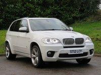 2012 BMW X5 3.0 XDRIVE40D M SPORT 5d 302 BHP £15990.00