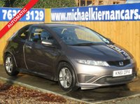 2011 HONDA CIVIC 1.3 I-VTEC TYPE S I-SHIFT 3d 98 BHP £5195.00