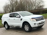 USED 2015 15 FORD RANGER 3.2 LIMITED 4X4 DCB TDCI 4d 197 BHP