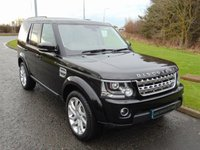 USED 2015 65 LAND ROVER DISCOVERY 3.0 SDV6 HSE 5d 255 BHP AUTO SAT NAV, REAR CAMERA, PRIVACY GLASS