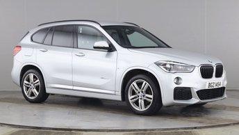 2016 BMW X1 2.0 XDRIVE 20D M SPORT 5d 188 BHP £17490.00