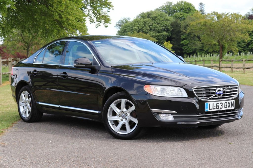 USED 2013 63 VOLVO S80 2.0 D3 SE LUX 4d 134 BHP Satnav + Leather +Parking Aid + Fsh