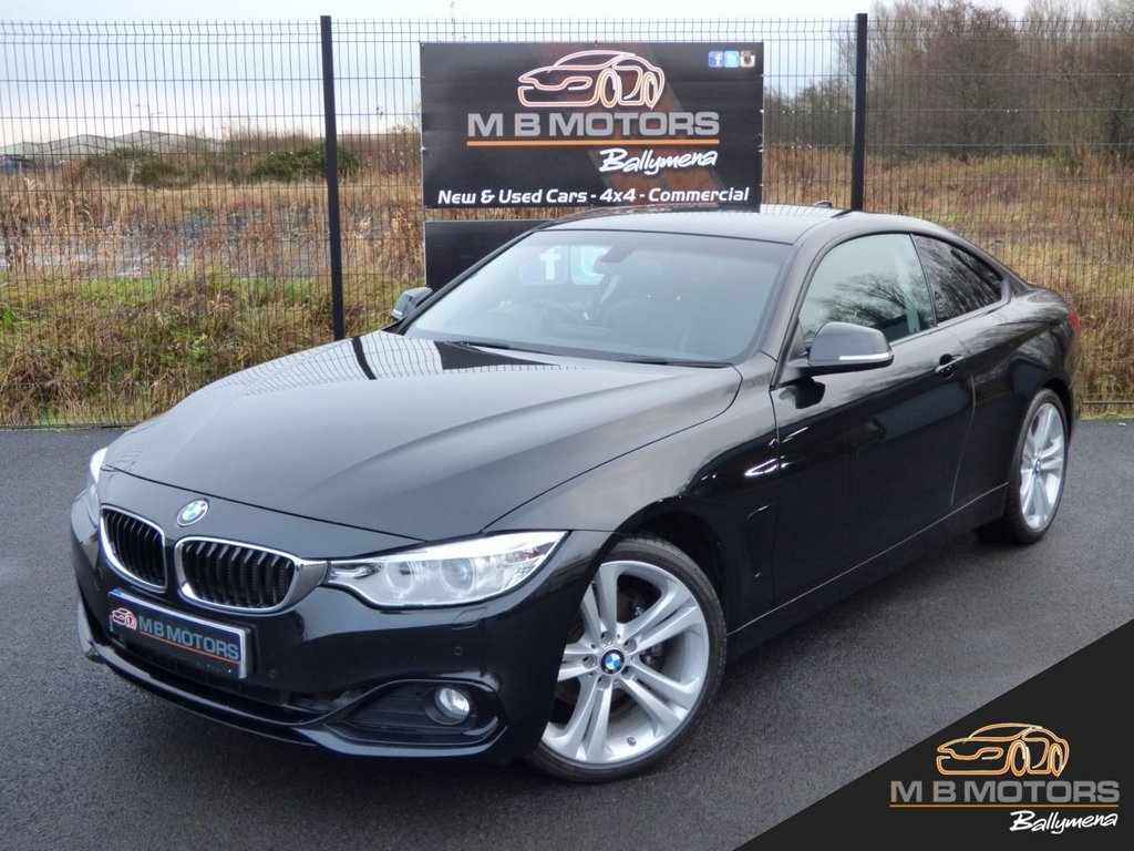 USED 2017 BMW 4 SERIES 420D SPORT 2d Coupe 188 BHP AUTO