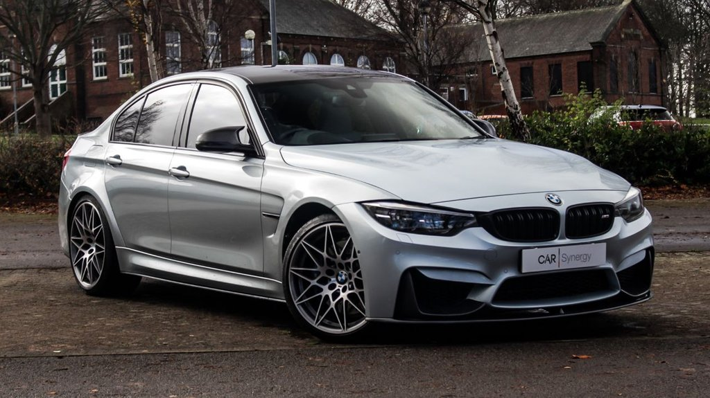 USED 2017 67 BMW M3 3.0 M3 COMPETITION PACKAGE 4d 444 BHP