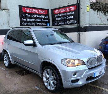 """2009 BMW X5 3.0SD M SPORT 6S AUTO 286 BHP 4X4, MEDIA PACK, 20"""" ALLOYS £11850.00"""