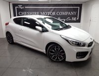 USED 2013 13 KIA PROCEED 1.6 PRO CEED GT 3d 201 BHP + PRIVACY GLASS + HALF LEATHER