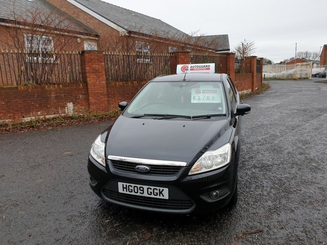 USED 2009 09 FORD FOCUS 1.6 ECONETIC TDCI 5d 90 BHP A GREAT ECONOMICAL VEHICLE