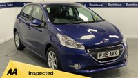 USED 2015 15 PEUGEOT 208 1.2 ACTIVE 5d 80 BHP (£20 ROAD TAX - BLUETOOTH)