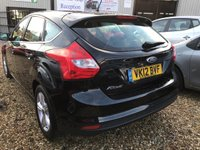 USED 2012 12 FORD FOCUS 1.6 ZETEC 5d 124 BHP FULL FORD SERVICE HISTORY: