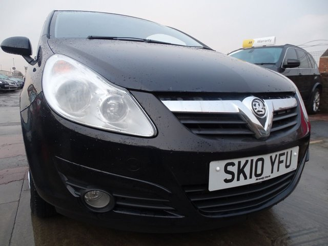USED 2010 10 VAUXHALL CORSA 1.2 ENERGY 3d GREAT FIRST CAR