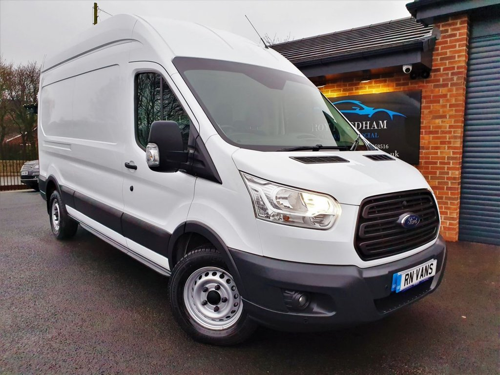 USED 2016 16 FORD TRANSIT 2.2 350 H/R P/V 124 BHP *** ONE OWNER -  FULL SERVICE HISTORY ***