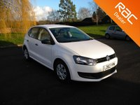 USED 2012 62 VOLKSWAGEN POLO 1.2 S A/C 5d 60 BHP Nice Little 5 Door Hatchback! Air Conditioning, Low Insurance Group