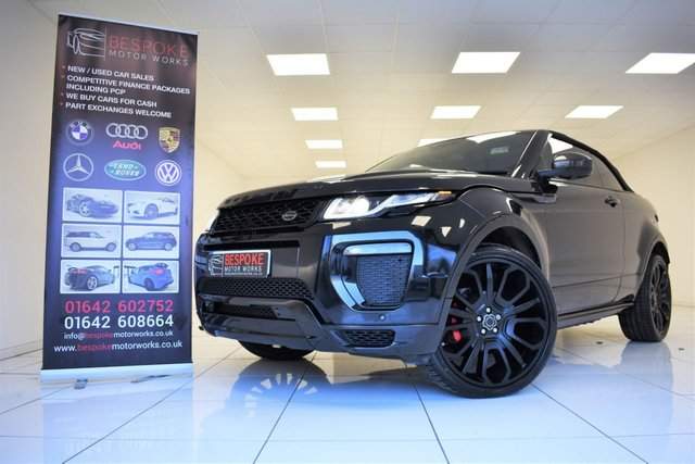 2016 66 LAND ROVER RANGE ROVER EVOQUE OVERFINCH 2.0 TD4 HSE DYNAMIC AUTOMATIC