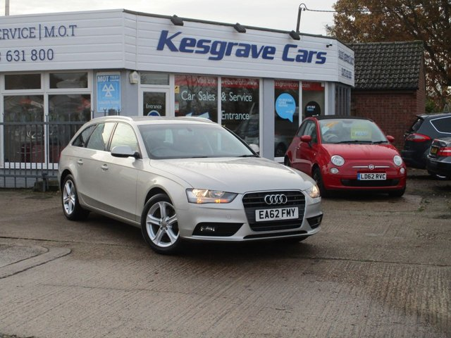 USED 2012 62 AUDI A4 2.0 AVANT TDI SE 5d 141 BHP One Owner, FSH, Low Miles