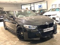 USED 2014 14 BMW 4 SERIES 3.0 435D XDRIVE M SPORT 2d 309 BHP AUTOVOGUE CONVERSION+PLUS PK