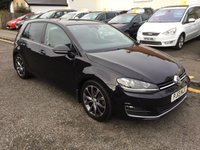 2013 VOLKSWAGEN GOLF 2.0 GT TDI BLUEMOTION TECHNOLOGY 5d 148 BHP £8500.00
