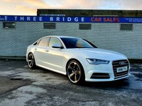 USED 2016 66 AUDI A6 2.0 TDI ULTRA S LINE 4d 188 BHP BEAUTIFUL AS NEW EXAMPLE