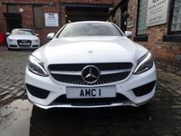 """USED 2016 16 MERCEDES-BENZ C CLASS 2.1 C 220 D AMG LINE 2d 168 BHP (AMG 19"""" Style Alloys)"""