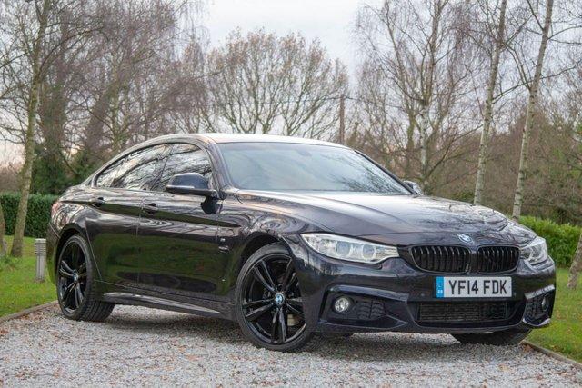 2014 14 BMW 4 SERIES 2.0 420D M SPORT GRAN COUPE 4d 181 BHP