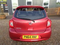 USED 2014 64 NISSAN MICRA 1.2 Acenta CVT 5dr Bluetooth, Low Mileage