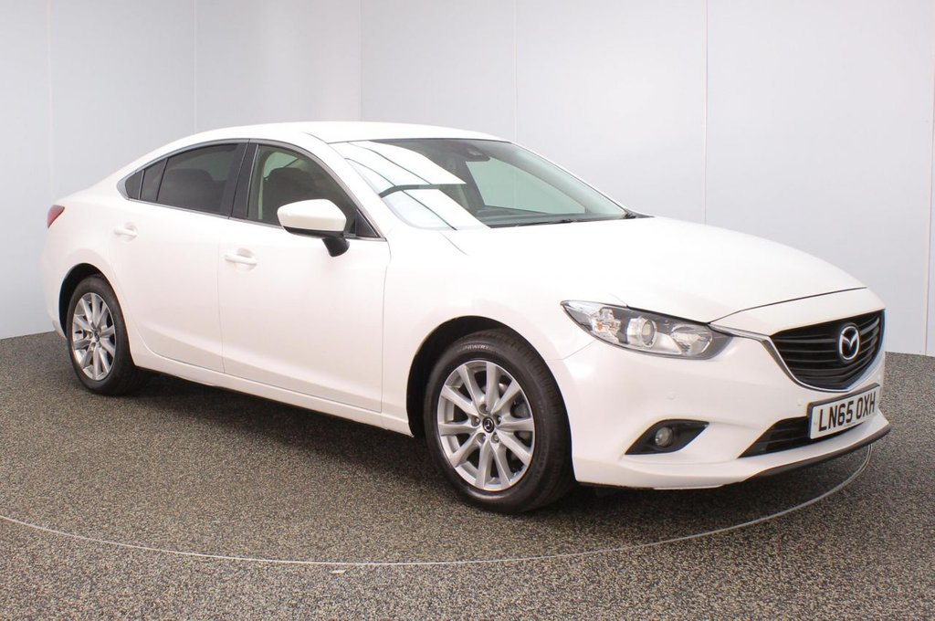 USED 2015 65 MAZDA 6 2.2 D SE-L NAV 4DR 148 BHP FULL SERVICE HISTORY + SATELLITE NAVIGATION + BLUETOOTH + CRUISE CONTROL + CLIMATE CONTROL + MULTI FUNCTION WHEEL + DAB RADIO + ELECTRIC WINDOWS + ELECTRIC/HEATED DOOR MIRRORS + 17 INCH ALLOY WHEELS