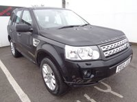 USED 2012 12 LAND ROVER FREELANDER 2.2 SD4 HSE 5d 190 BHP AWD 4X4 4WD 18 Inc Alloys Climate Controll Full Black Leather Trim Sat Nav Panoramic Roof Parking Sensors 6 Service Stamps