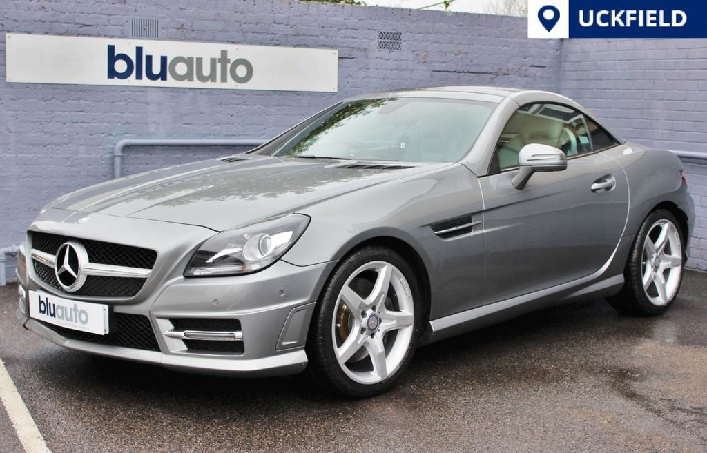 USED 2012 62 MERCEDES-BENZ SLK 1.8 SLK200 BLUEEFFICIENCY AMG SPORT 2d 184 BHP Beautiful Condition, Massive Specification, Full service History.....