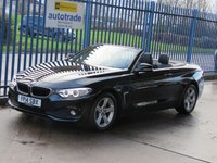 2014 BMW 4 SERIES 2.0 420D SE Convertible Full leather Airscarf Cruise Heated seats Alloys £13500.00