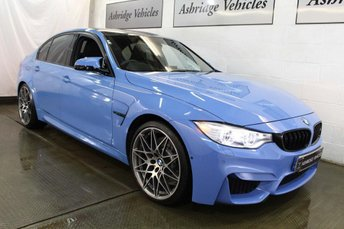 2017 BMW M3 3.0 BiTurbo Competition Pack DCT (s/s) 4dr £37995.00