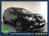 USED 2016 16 NISSAN X-TRAIL 1.6 DCI TEKNA 5d 130 BHP FULL NISSAN HISTORY - 1 OWNER - ULEZ - 7 SEATS - BLUETOOTH - SAT NAV - LEATHER - PAN ROOF - CAMERA