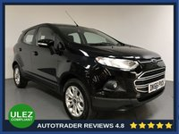 USED 2016 66 FORD ECOSPORT 1.5 ZETEC 5d 110 BHP FULL FORD HISTORY - 1 OWNER - ULEZ - PARKING SENSORS - CD - BLUETOOTH - AIR CON - AUX / USB