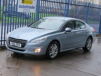 2012 PEUGEOT 508 1.6 HDI ACTIVE 4dr Cruise Alloys Auto lights £3000.00
