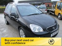 USED 2011 61 KIA CARENS 1.6 CRDI 2 5d 127 BHP 7 SEVEN SEATER DIESEL LOW MILEAGE SERVICE HISTORY