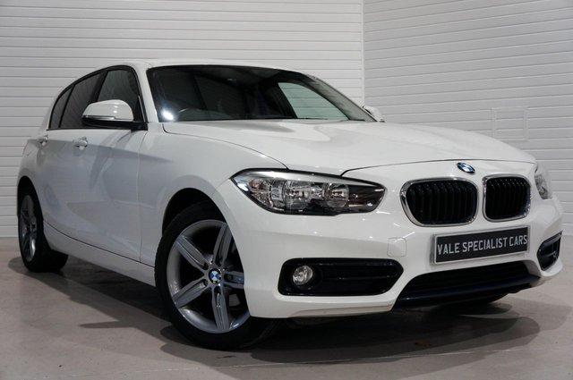 2016 65 BMW 1 SERIES 1.5 116D SPORT 5d (SAT NAV)