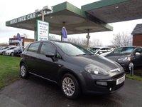 2011 FIAT PUNTO EVO 1.2 MYLIFE 5d 68 BHP **SAT NAV** £2995.00