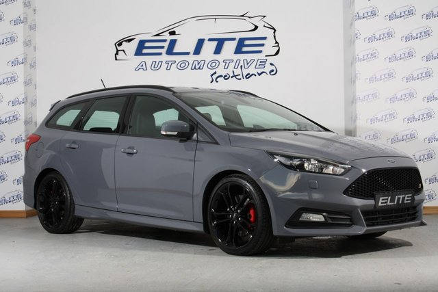 USED 2017 67 FORD FOCUS 2.0 ST-3 TDCI 5d 183 BHP STEALTH GREY FOCUS ST-3 TDCI ESTATE WITH BLACK STYLING PACK