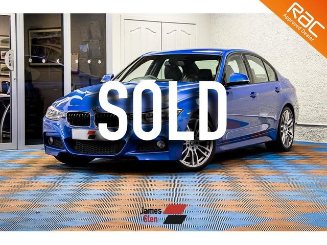 USED 2013 63 BMW 3 SERIES 3.0 330D M SPORT 4d 255 BHP Two Owners | Four Service Stamps