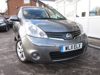 USED 2011 11 NISSAN NOTE 1.5 TEKNA DCI 5d 89 BHP