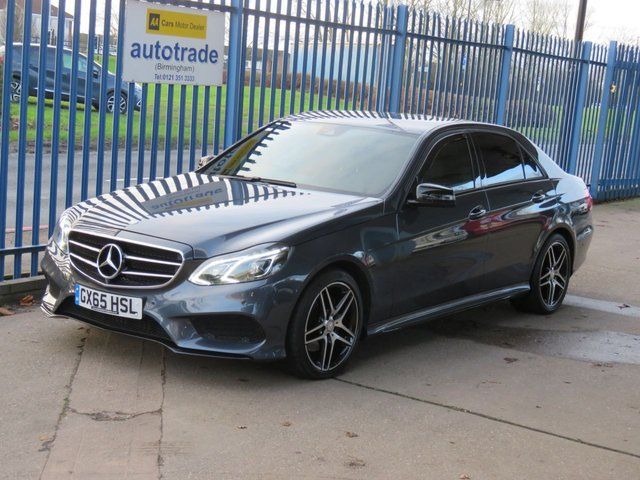 USED 2015 65 MERCEDES-BENZ E CLASS 2.1 E220 BLUETEC AMG NIGHT EDITION 4dr Nav Leather Camera Heated seats ULEZ Compliant SatNav,Leather,Automatic,Privacy Glass,Service History