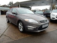 2013 FORD MONDEO 2.0 TITANIUM X BUSINESS EDITION TDCI 5d 138 BHP £5250.00