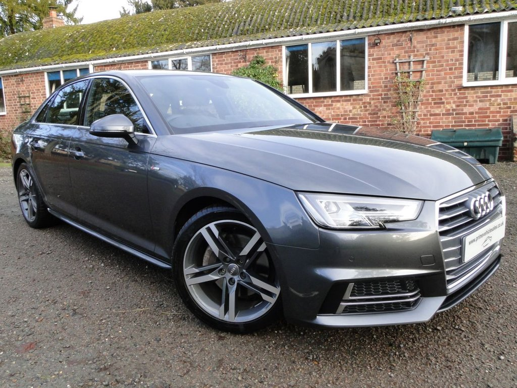 USED 2016 66 AUDI A4 2.0 TDI 190 S-Line S-Tronic 4dr