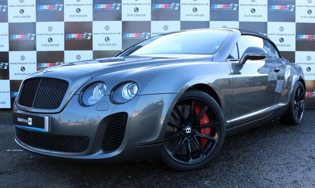 View our BENTLEY CONTINENTAL SUPERSPORTS