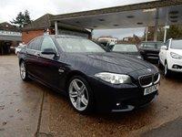 USED 2015 15 BMW 5 SERIES 3.0 530D M SPORT 4d 255 BHP LEATHER,HEATED SEATS,BLUETOOTH,PARKING SENSORS,SAT NAV,