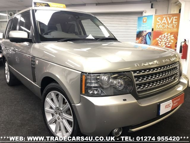 2009 09 LAND ROVER RANGE ROVER 5.0 V8 AUTOBIOGRAPHY 5d 500 BHP