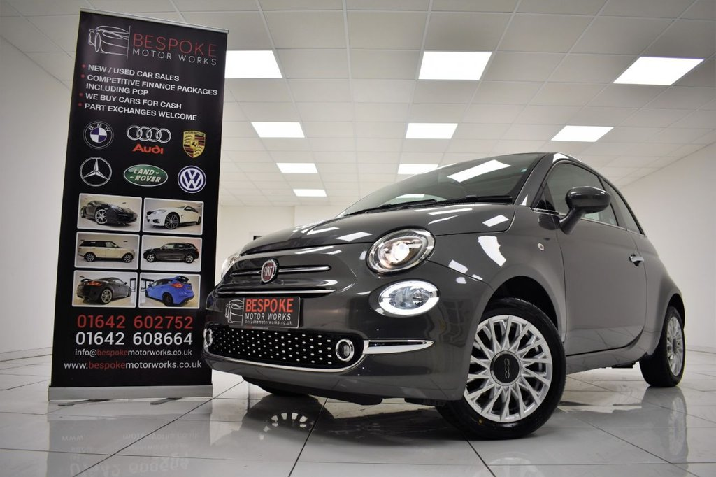 USED 2016 16 FIAT 500 1.2 LOUNGE 3 DOOR
