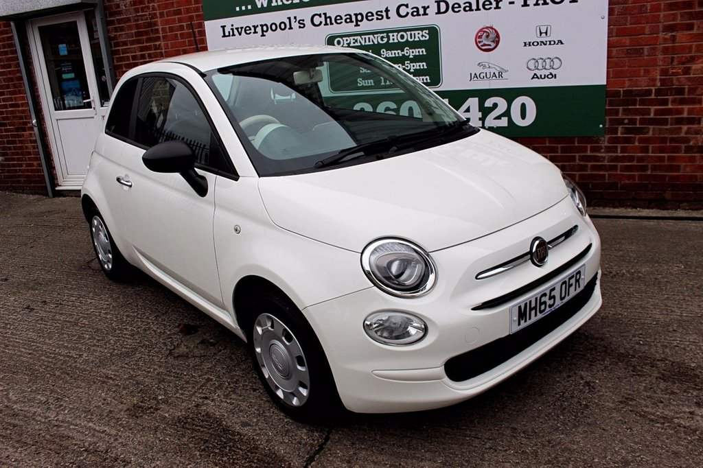 USED 2016 FIAT 500 1.2 Pop 3dr +ONE OWNER +FSH +LOW TAX