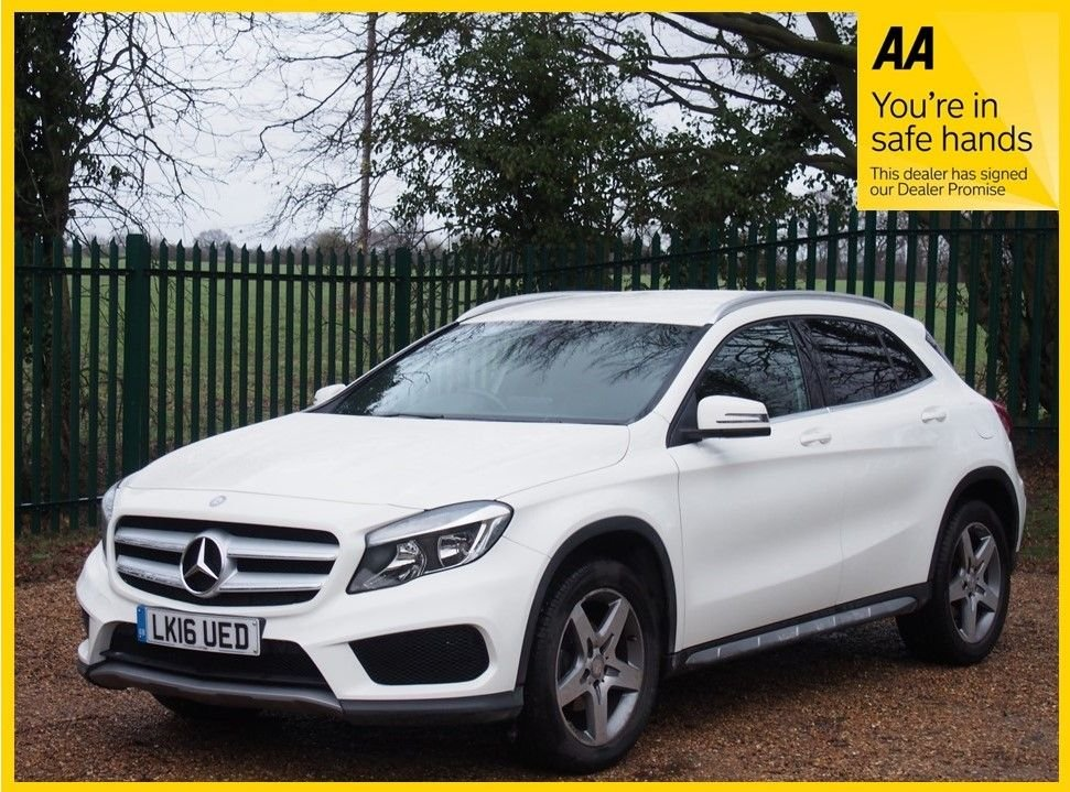 USED 2016 16 MERCEDES-BENZ GLA-CLASS 2.1 GLA 200 D AMG LINE 5d 134 BHP JUST SERVICED, 12 MONTHS MOT