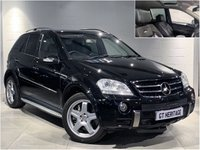 USED 2006 56 MERCEDES-BENZ M CLASS ML63 AMG 4MATIC [BIG SPEC]