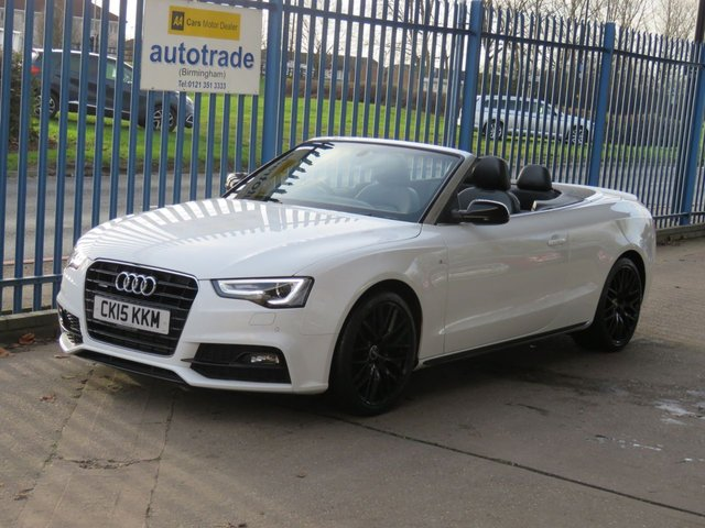 USED 2015 15 AUDI A5 2.0 TFSI QUATTRO S LINE SPECIAL EDITION PLUS Auto Convertible Sat nav Full leather DAB Heated seats Finance arranged Part exchange available Open 7 days